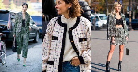 How to wear a tweed jacket like a fashion insider? Here is the answer.