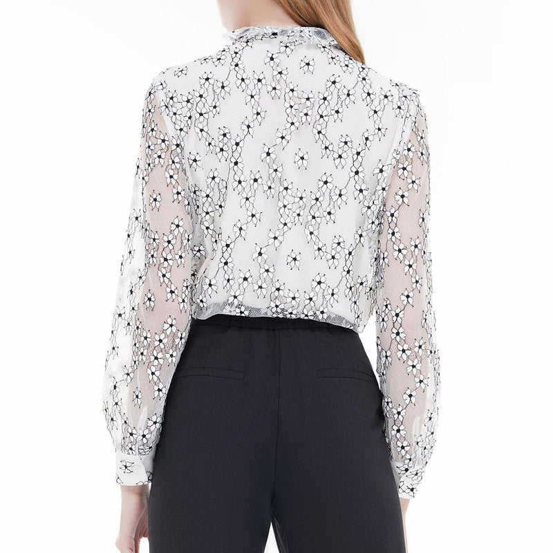 Princess styled lace blouse
