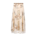 Insect & floral embrioderied tulle skirt