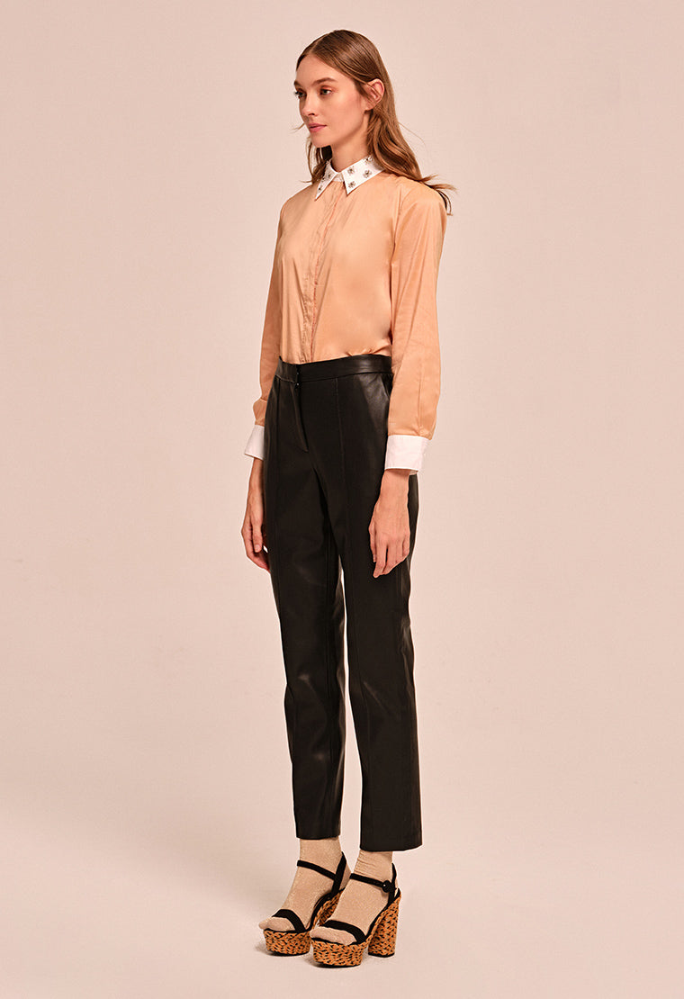 Light Peach cotton shirt