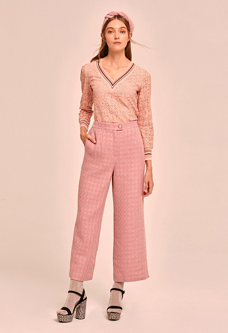 Noble classic tweed trousers