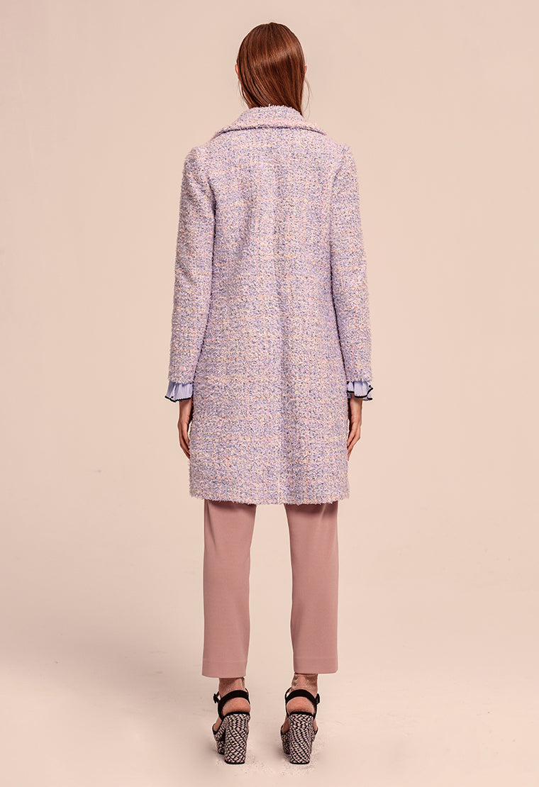 Dreamy tweed coat