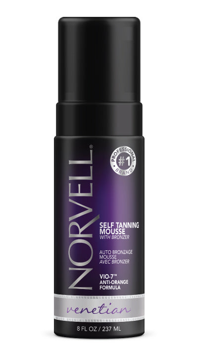 Venetian Self Tanning Mousse with Bronzers