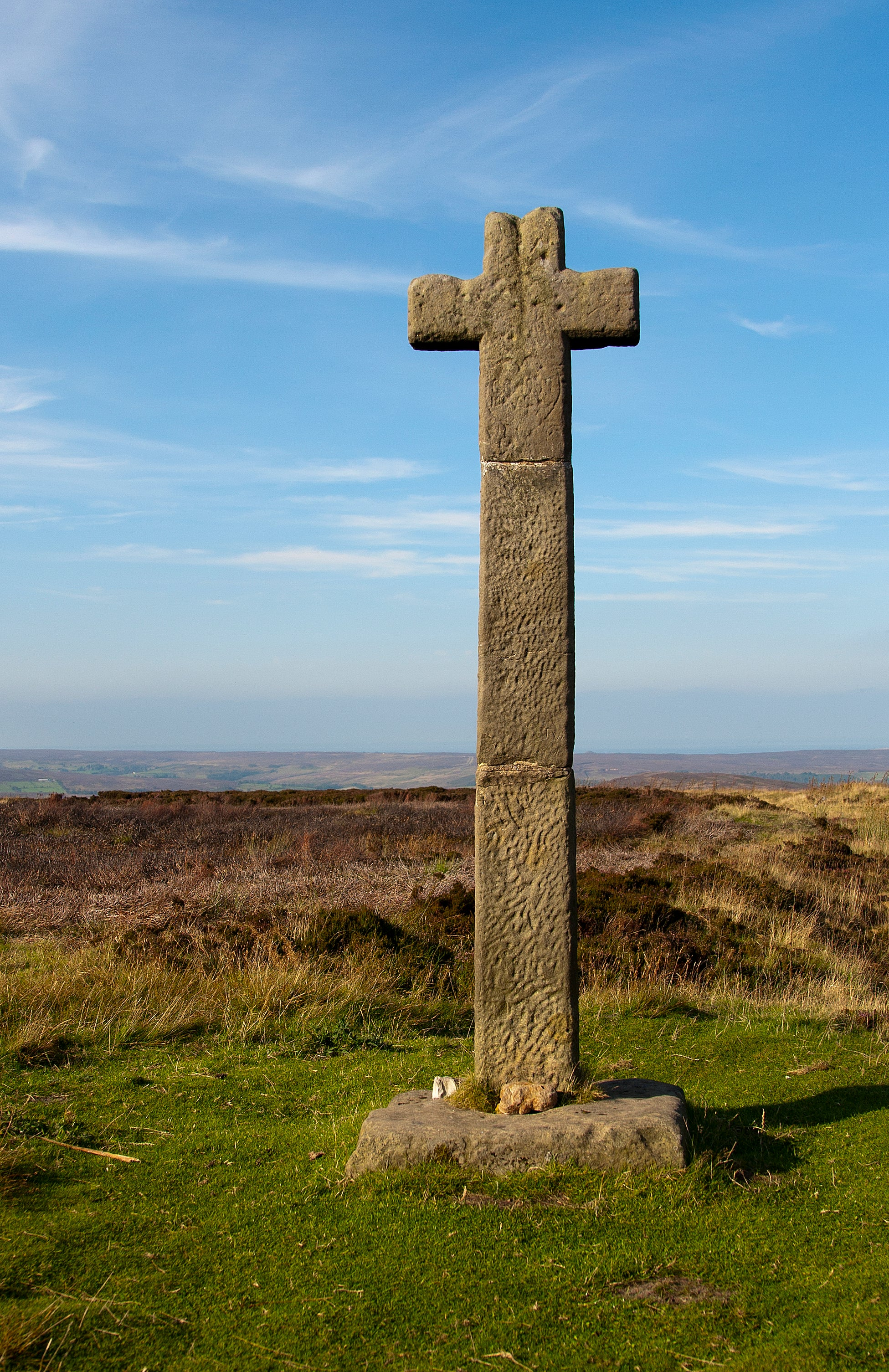 Yorkshire stone cross