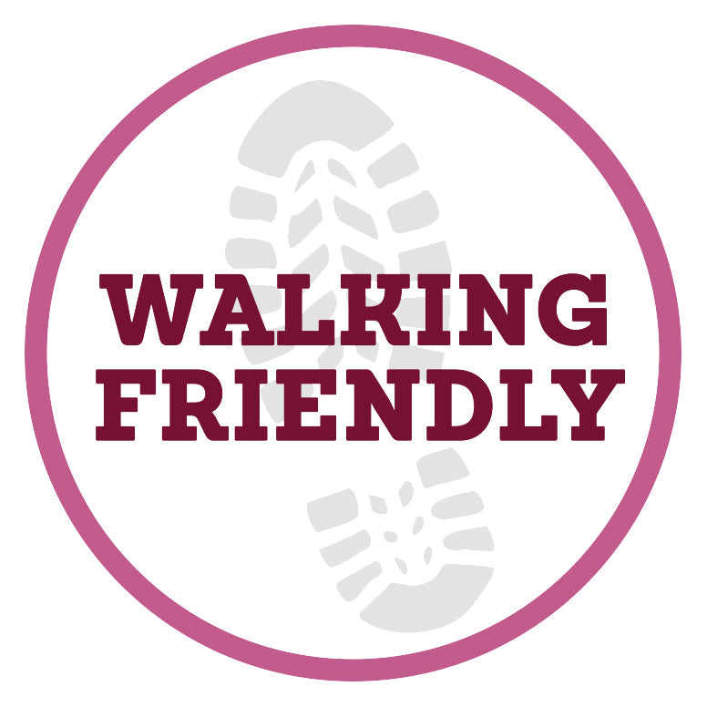 walking friendly certificacte