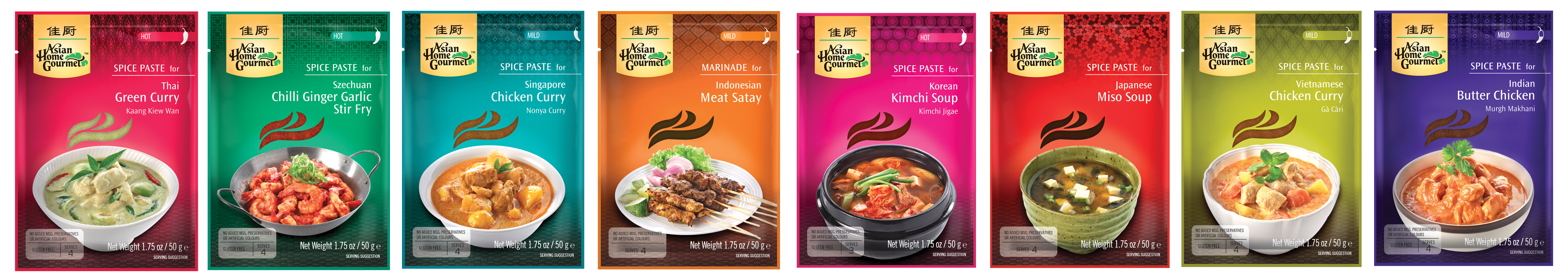 asian home gourmet spice pastes