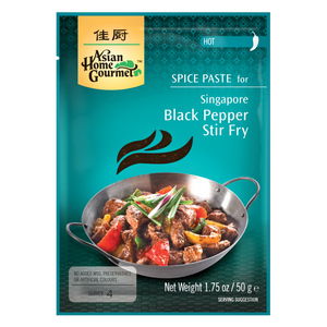 Singapore Black Pepper Stir Fry - CASE