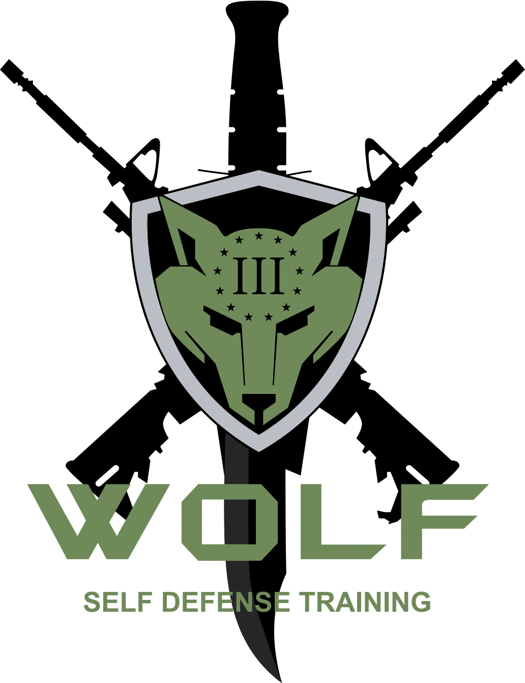 Wolf Tactical Facial Mask