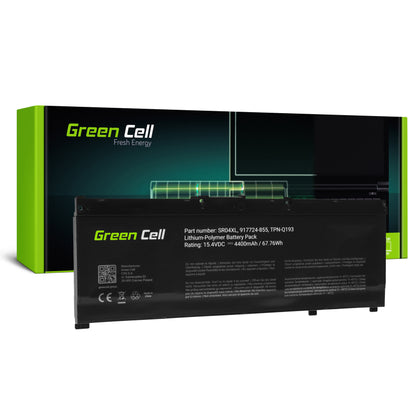 Green Cell Batteri til HP Omen SR04XL 15-CE-15 DC-17 CB Power HP Pavilion 15-CB