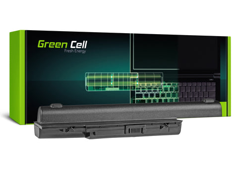 Green Cell Batteri til Acer Aspire 5520 as07b31 AS07B32 / 6600mAh 11.1V