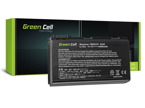 Green Cell Batteri til Acer TravelMate 5220 5520 5720 7520 7720 / 4400mAh 11.1V