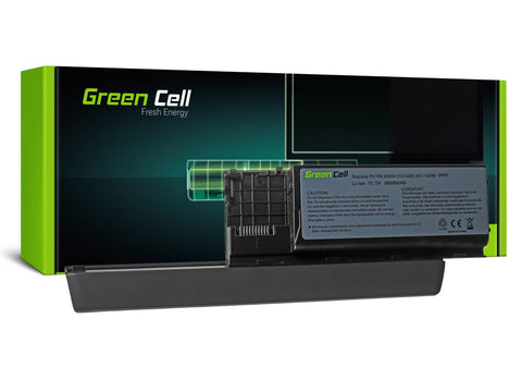 Green Cell Batteri til Dell Latitude D620 D630 D631 D630N / 6600mAh 11.1V