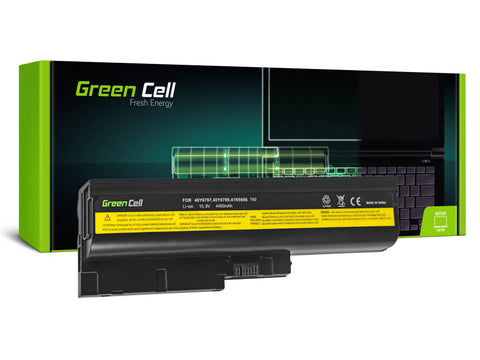 Green Cell Batteri til Lenovo ThinkPad T60 T61 R60 R61 / 4400mAh 11.1V