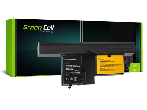 Green Cell Batteri til Lenovo ThinkPad X60 Tablet PC X61 X61s X60s / 14.4V 4400mAh
