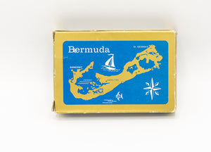 Vintage Deck of Bermuda Poker Playing Cards