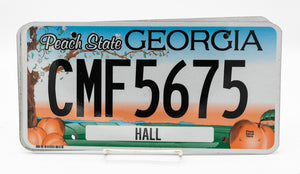State of Georgia - License Plate