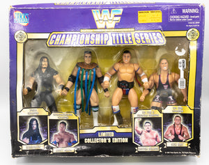 1996 TitanSports WWF Survivor Series Action Figures (Special Edition).