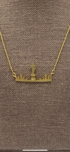 Statue of Liberty Skyline Necklace