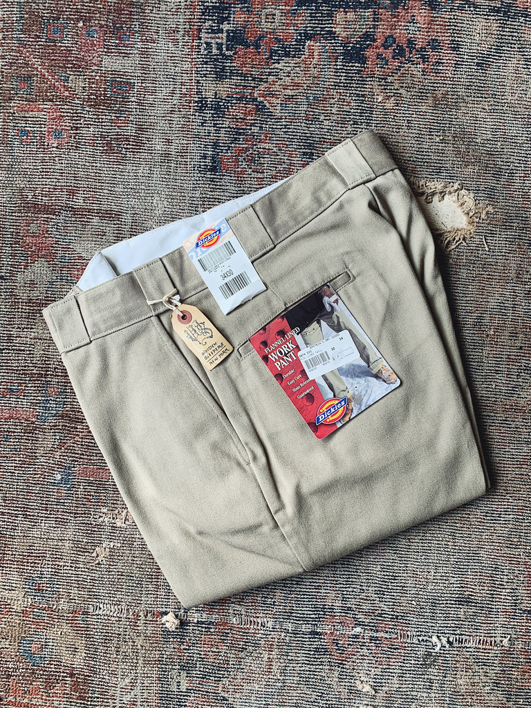 Vintage NOS Dickies Flannel Lined Work Pants