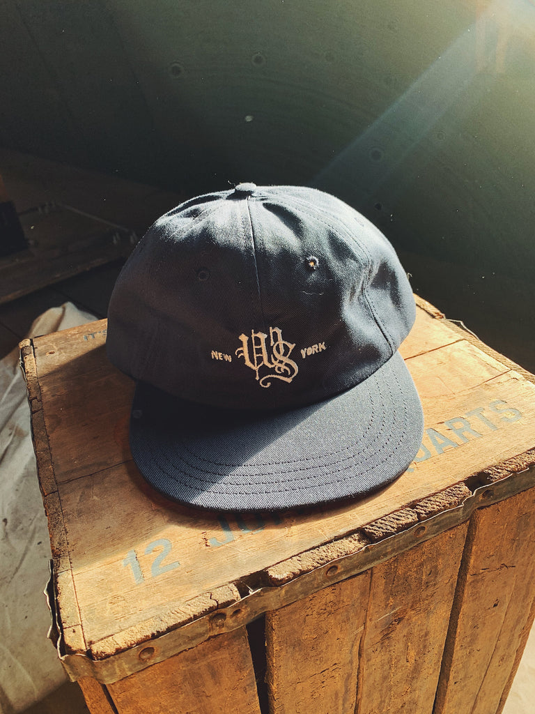 Wooden Sleepers Monogram 6-Panel Hat