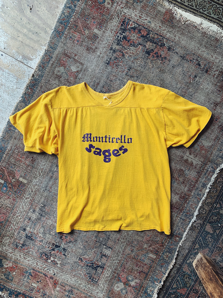 Vintage Montecello Sages Football Jersey