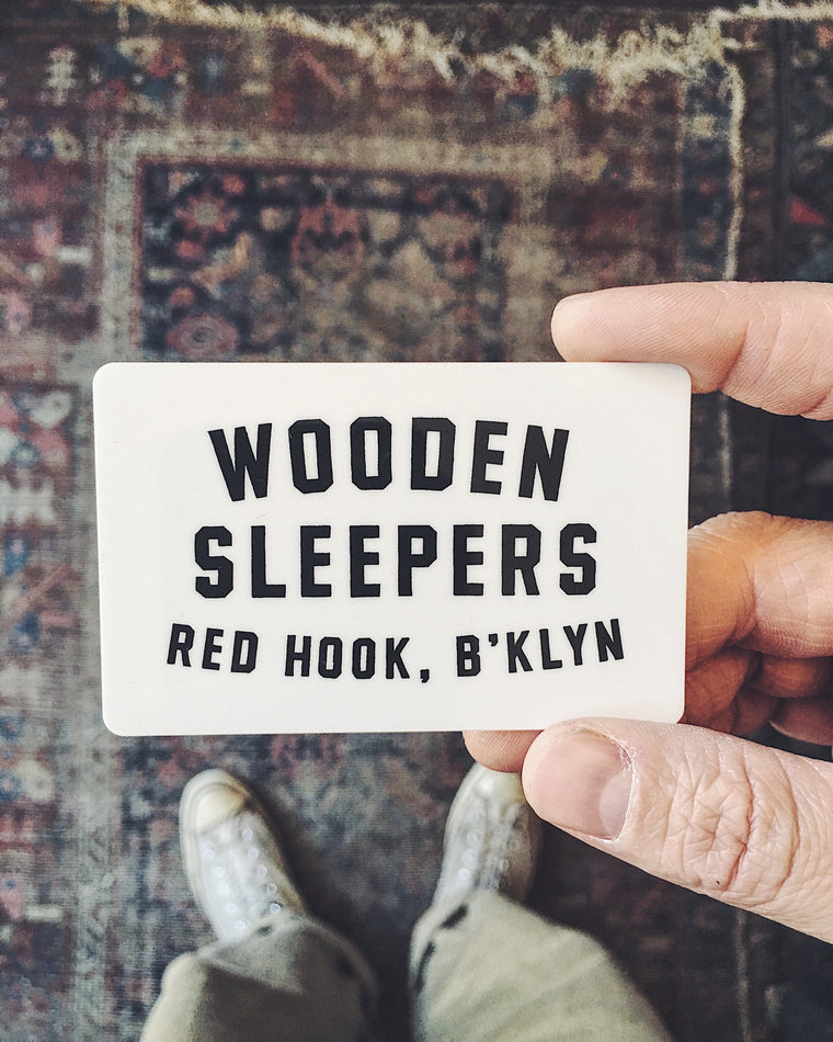 Wooden Sleepers Gift Card
