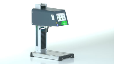 NEW! 100mm x 120mm Impact Benchtop Electromagnetic Dot Peen marking machine with programmable z-axis