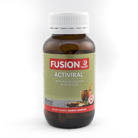 Fusion Health - Activiral with Andrographis & Olive Leaf