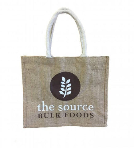 The Source Environmental Jute Carry Bag