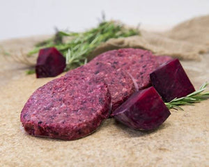 Beef and Beetroot Burger Patties