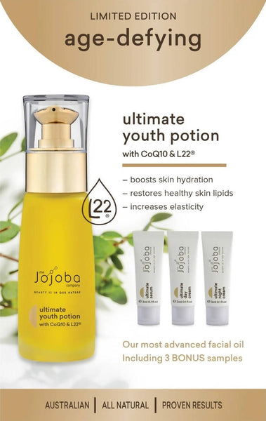 Age-Defying Ultimate Youth Potion Pack - The Jojoba Company
