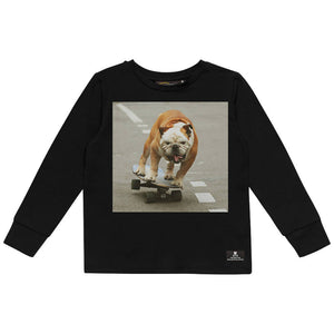 Rock Your Baby Skater Dog T-Shirt (Preorder - Ships 10th March)