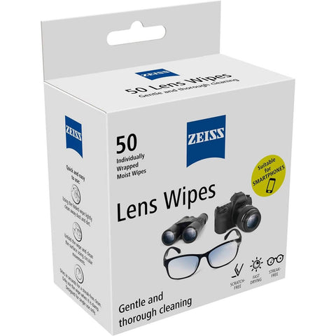 Zeiss Lens Wipes (50 pack)