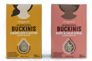 Raw Organic Activated Buckinis