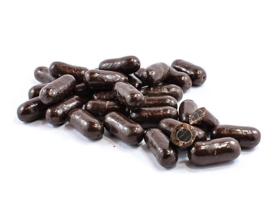 Dark Chocolate Licorice Bullets