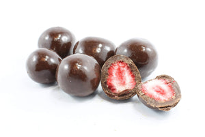 Freeze Dried Dark Chocolate Strawberries