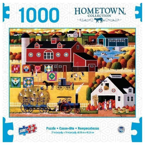 Hometown Collection 1000 piece Puzzles