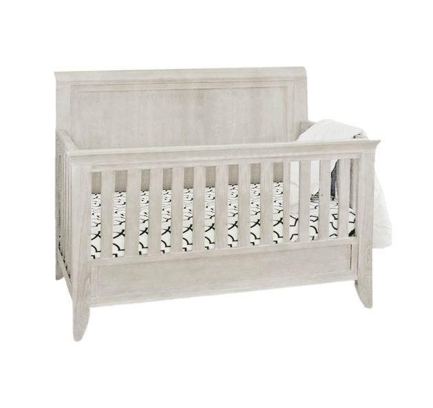 Cameo Sleigh 4-in-1 Convertible Crib