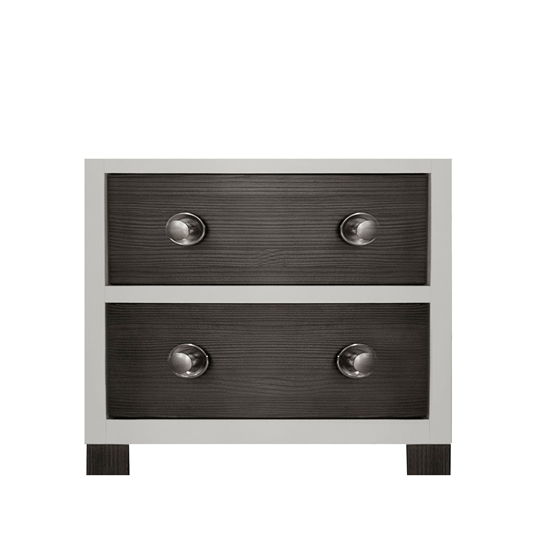 True 2-Drawer Nightstand