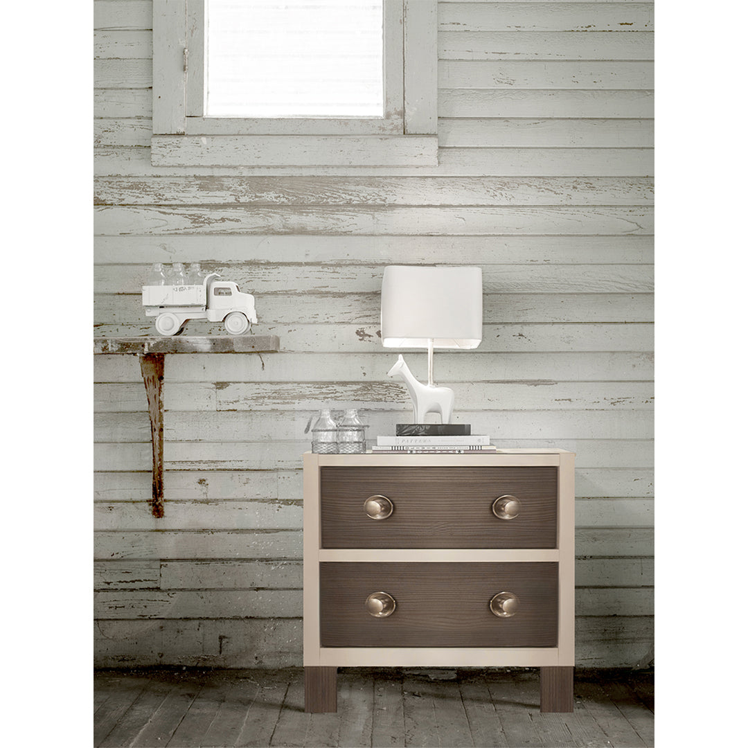 True 2-Drawer Night Stand