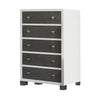 True Tall Chest 5-Drawer Dresser