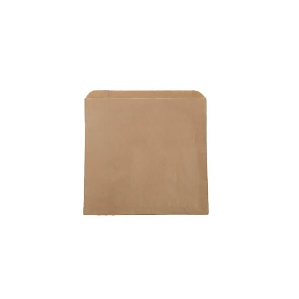 Flat Paper Bag Brown