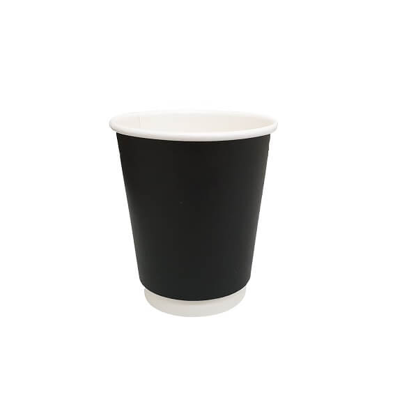 Black Double Wall Paper Cups | BSB Packaging