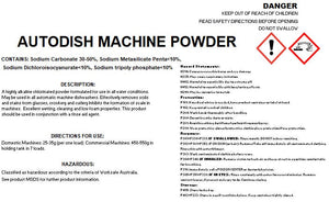 Dishwashing auto machine powder | BSB Packaging