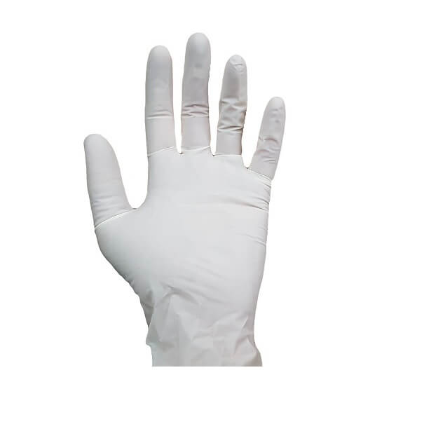 Latex White Gloves