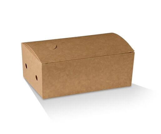 Snack Box - Cardboard Brown