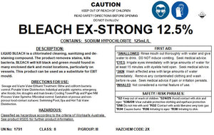 Xtra strong bleach 12.5 | BSB Packaging