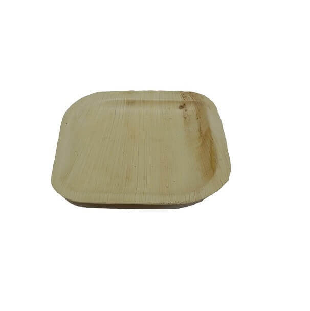 ECO Palm leaf plate 160mm Square