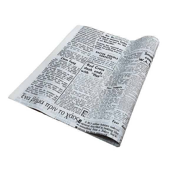 Greaseproof Paper / News Print