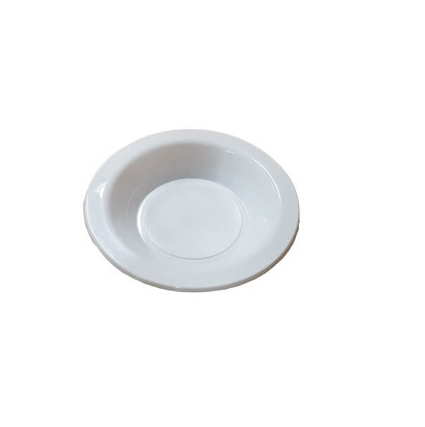 180mm - White Plastic Bowls